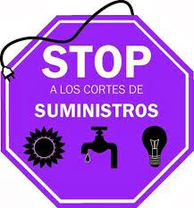 stop cortes de Suministro