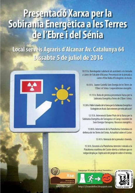 Presentació Xarxa per la Sobirania Energètica a les Terres de l'Ebre i del Sénia