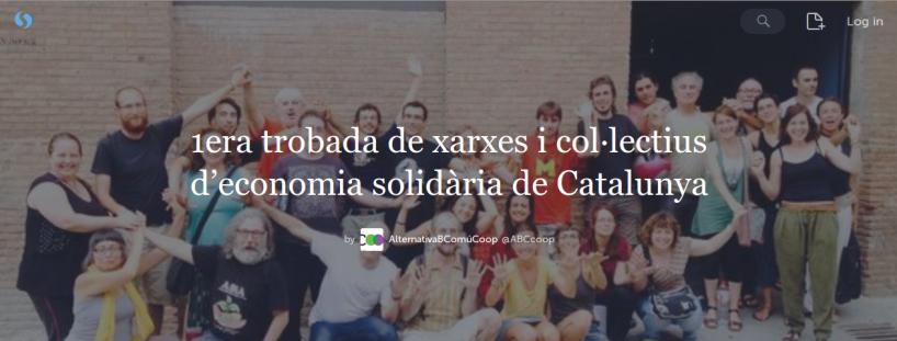 1era trobada de xarxes i col·lectius d'economia solidària de Catalunya