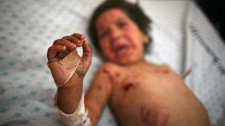 cuatro niños palestinos, todos de la misma familia, han muerto