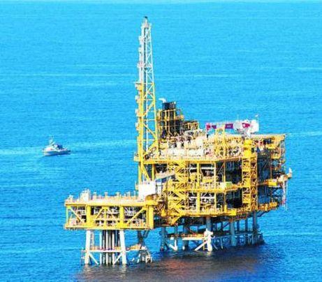 La plataforma marina del Castor es troba aturada des del 26 de setembre per ordre del Ministeri. Foto: J. Revillas
