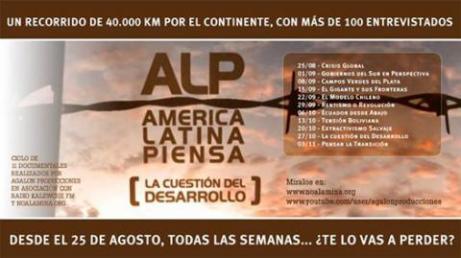 """América Latina Piensa """"La cuestión del Desarrollo"""""""