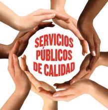 serv públicos de calidad