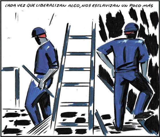liberal esclavitud